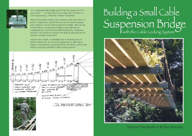 Building a Small Cable Suspension Bridge with the Cable Locking System