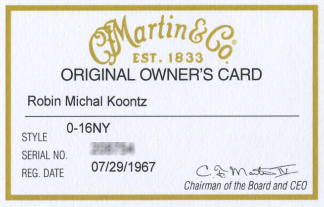 MartinOwnersCard