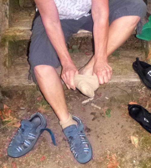 sock-shoe